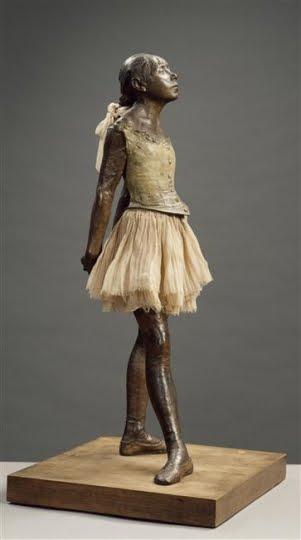 Les toiles d 39 artlubie la petite danseuse de 14 ans - Histoire de la sculpture ...