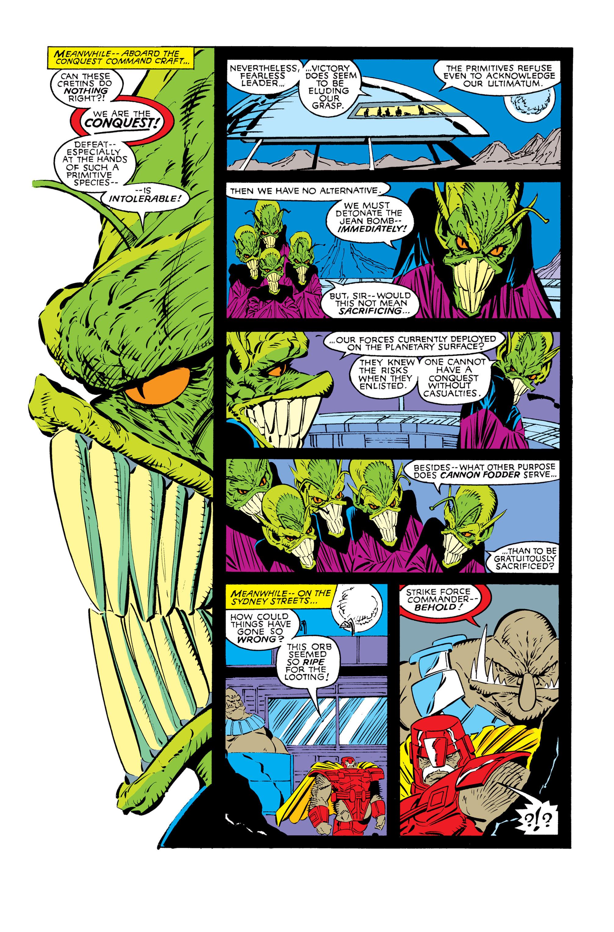Read online Uncanny X-Men (1963) comic -  Issue #245 - 19