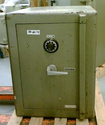 Chubb-Leamington model 6000 safe