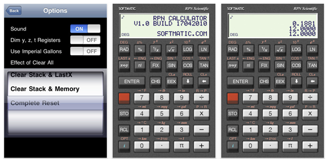 Granny Joan's Hitek Lady Blog: Nice RPN Calculator App for