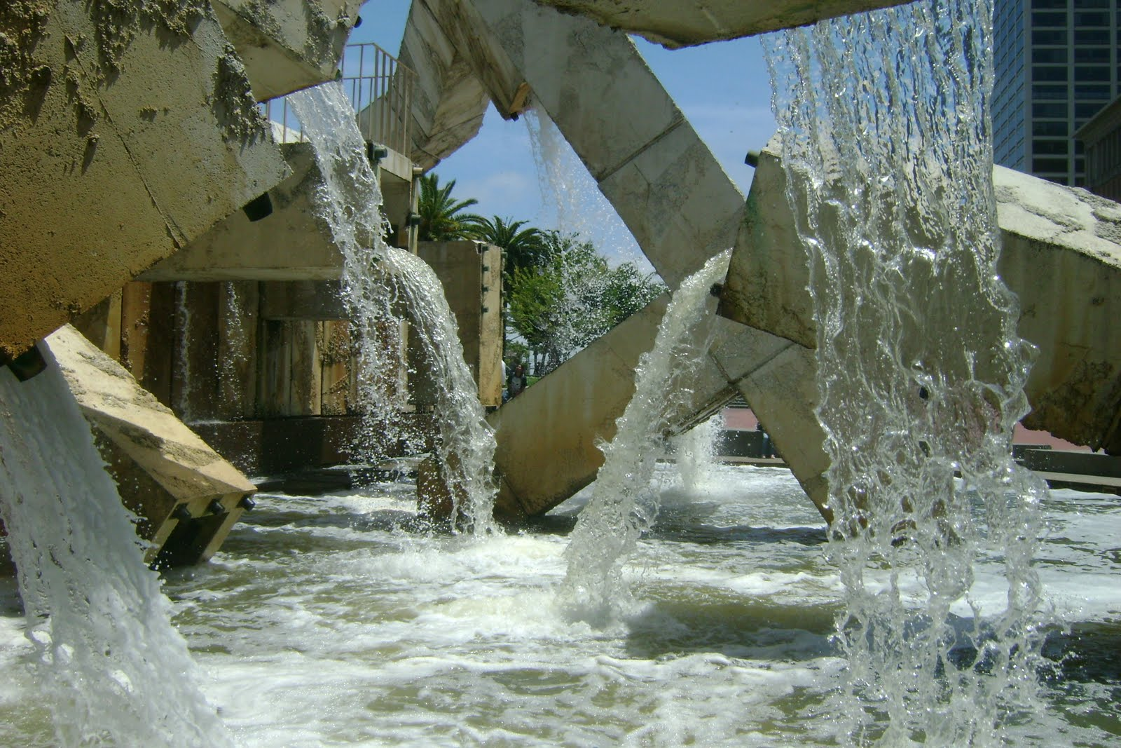 Water Falls This Image Was Taken In San Francisco It An Of A Fountain I Chose Because The Flow And Square Shape Pipe