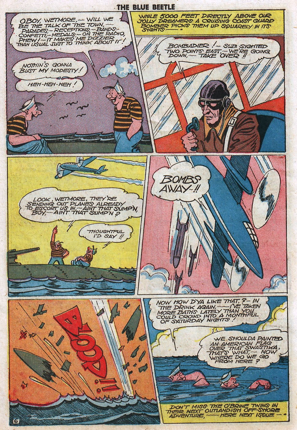 The Blue Beetle issue 33 - Page 38