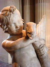 Gorgeous Sculpture Boy with Goose