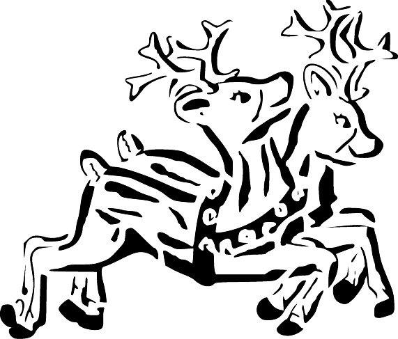 Honey's Free Scroll Saw Patterns: Christmas Reindeer