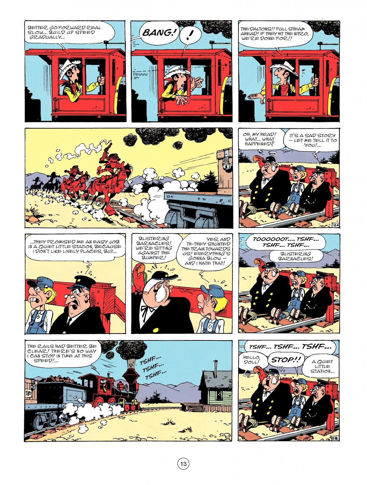 Read online A Lucky Luke Adventure comic -  Issue #53 - 13