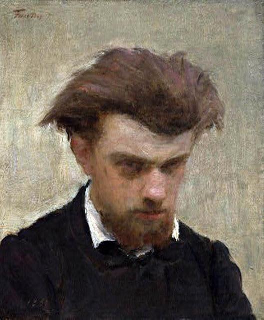 Henri Fantin-Latour, Self Portrait, Portraits of Painters, Fine arts, Henri Fantin Latour