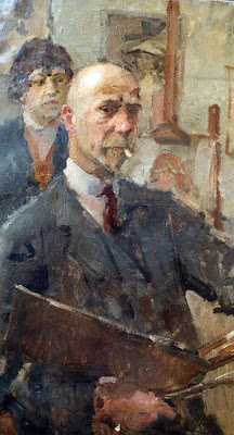 Isaac Lazarus Israels, Self Portrait, Portraits of Painters, Fine arts