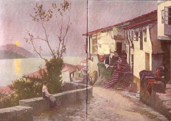 Atardecer, Juan Martínez Abades, Pintor español, Paisajes de Juan  Martínez Abades, Pintor Martínez Abades, Pintores españoles, Pintores Asturianos, Martínez Abades