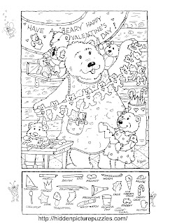 Hidden Pictures Publishing Hidden Picture PuzzleColoring Page for