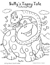 Coloring Page - Sully's Topsy Tale
