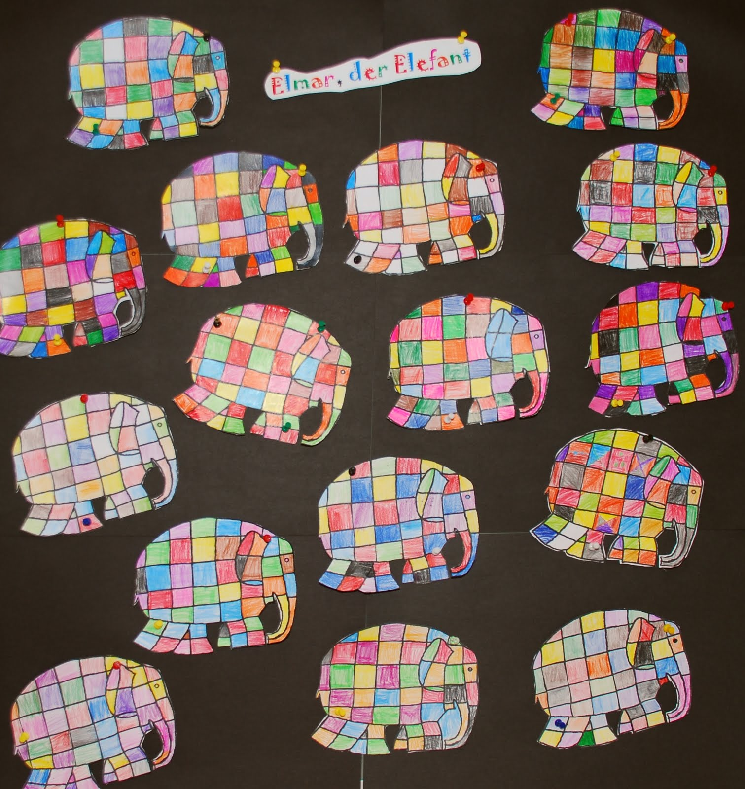 vs steinhaus 1 klasse 2010 2011 elmar der elefant. Black Bedroom Furniture Sets. Home Design Ideas