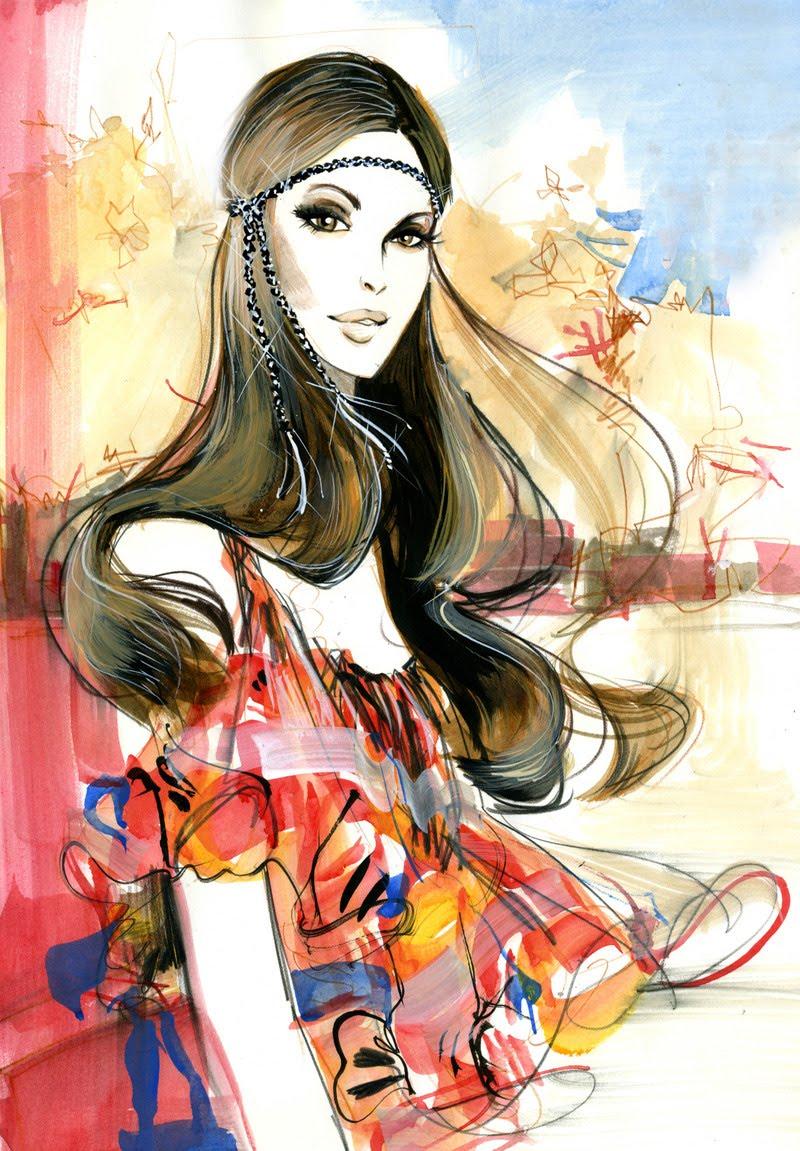 Tudo Fashion: Boho Chic Style