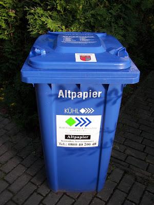 abholtermine papiertonne berlin