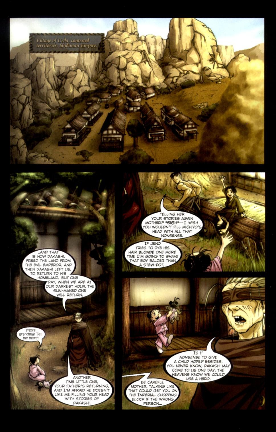 Read online Shidima comic -  Issue #1 - 8
