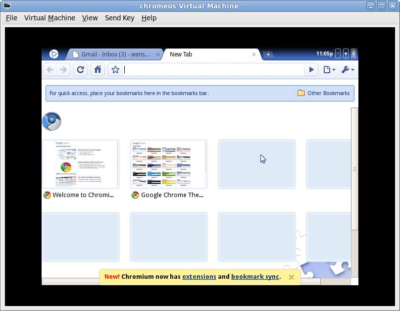 Wensheng: Chrome OS on Xen HVM