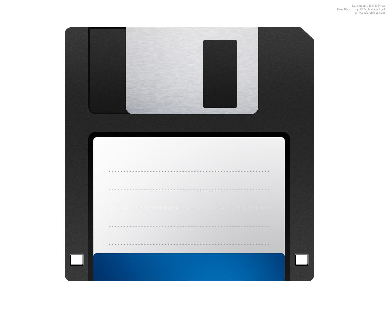 Unrealistic Future: Good Bye Floppy