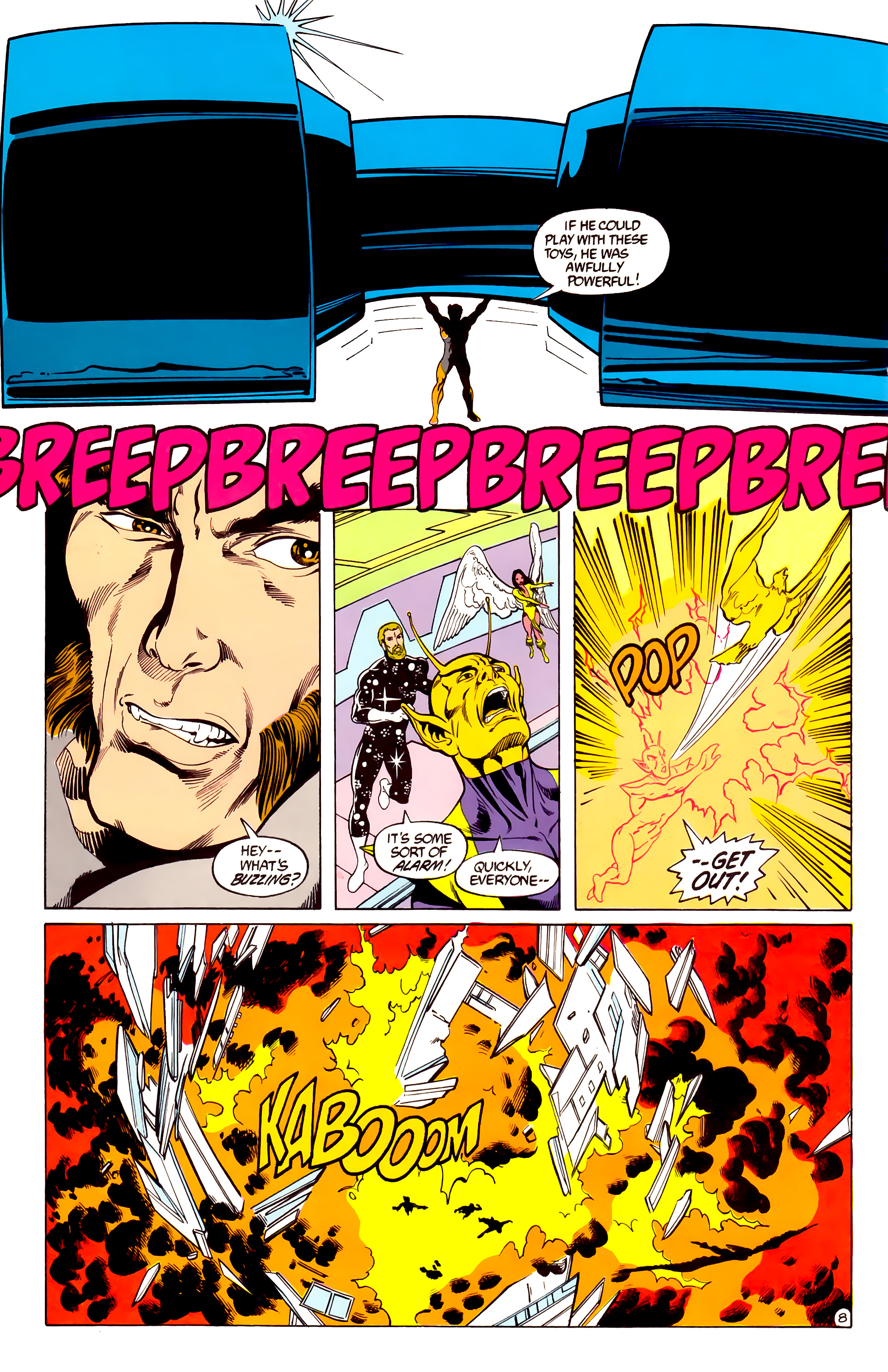 Legion of Super-Heroes (1984) 28 Page 9