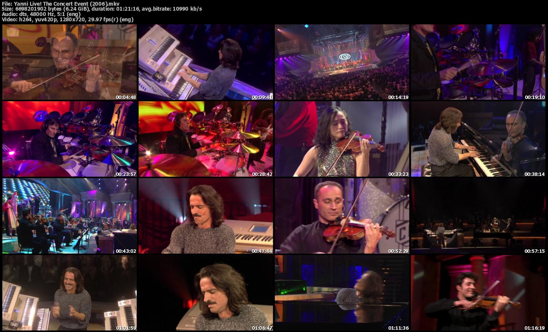 concert yanni 2006