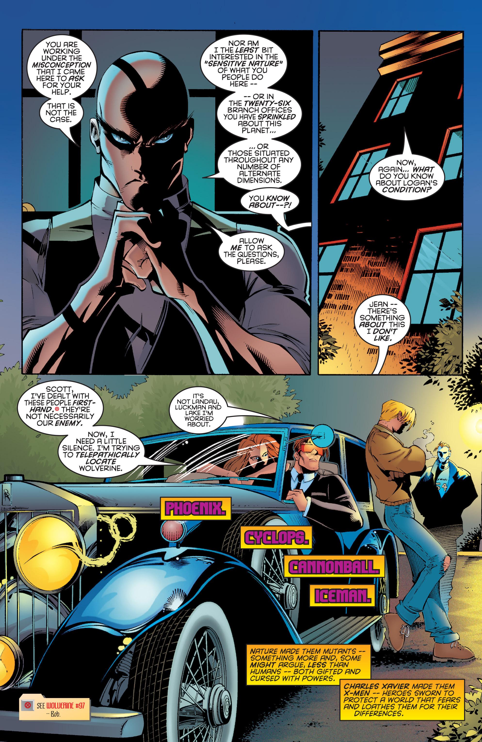 Read online Uncanny X-Men (1963) comic -  Issue #332 - 5