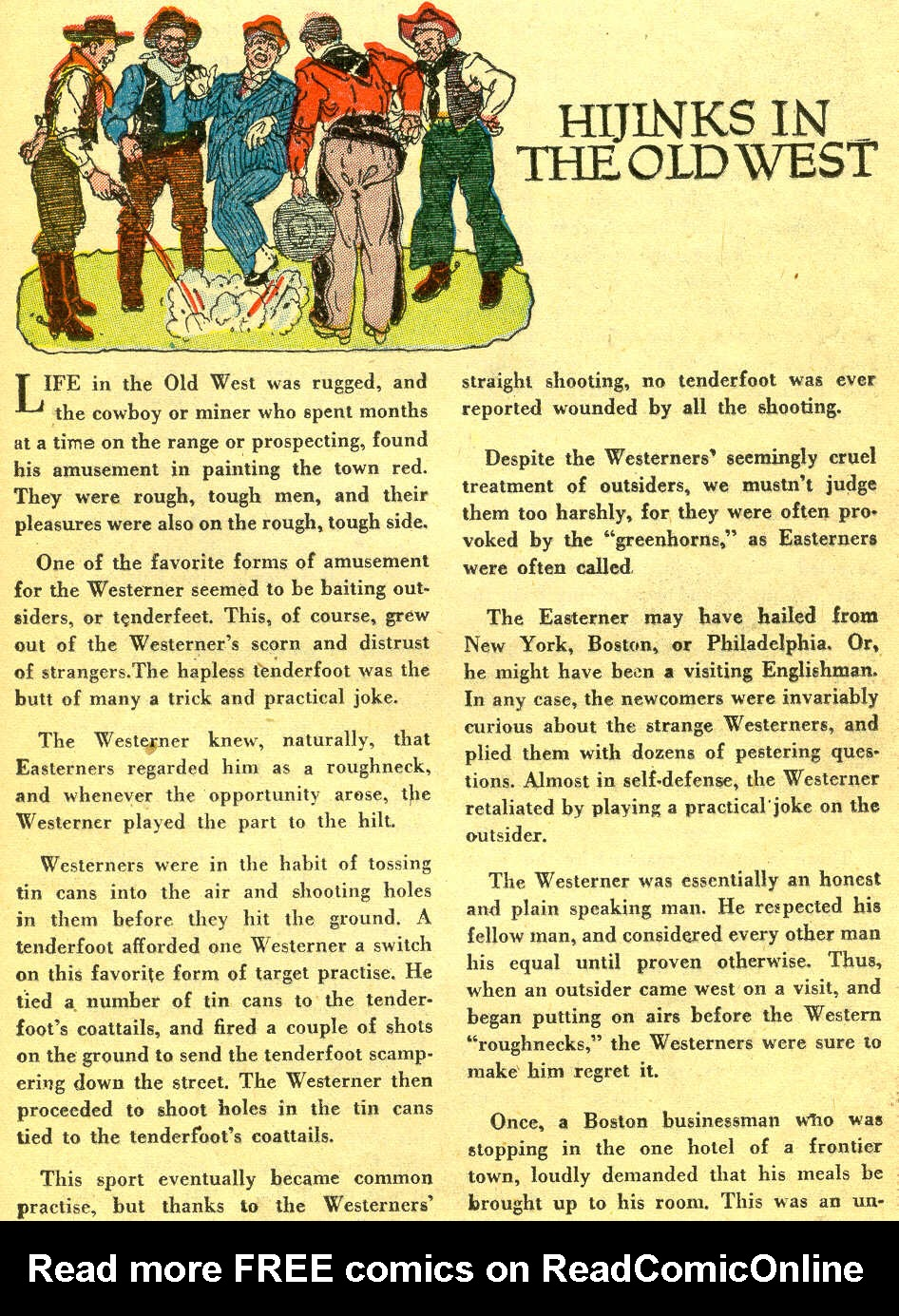 Read online All-Star Western (1951) comic -  Issue #78 - 25