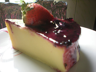 <strong>BLUEBERRY CHEESE CAKE</strong>