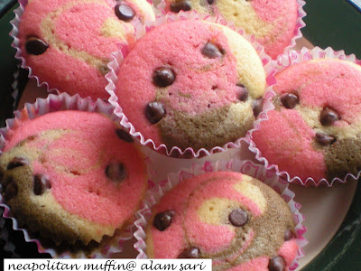<strong>NEAPOLITAN MUFFIN</strong>