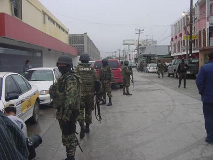 Mexico Replaces Police With Soldiers In Border Area : NPR |Matamoros Mexico Murders