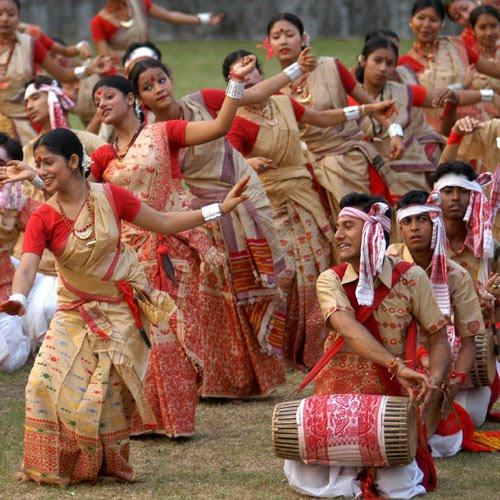 Rongali Bihu Festival in Assam