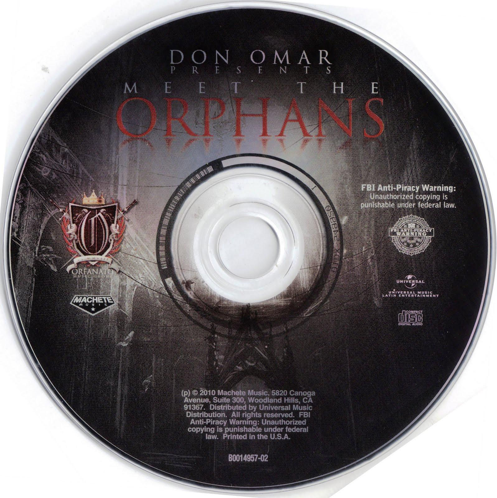 don omar meet the orphans album cover