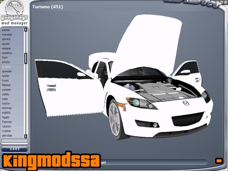 GGMM Gta Garage Mod Manager - GTA SA - GTA V MOD - Mods para