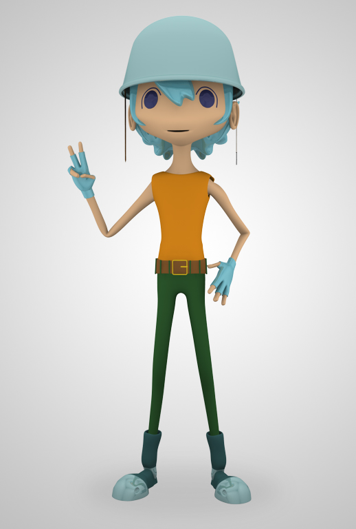 My Gallery_Cinema 4D: 3D Character