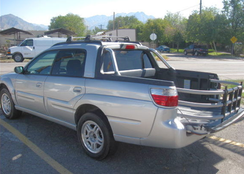 Subaru Only Made Bajas From 2003 2006 And I M Not Sure Why Because They Re Pretty Much Amazing A Car With Shortened Truck Bed On Back