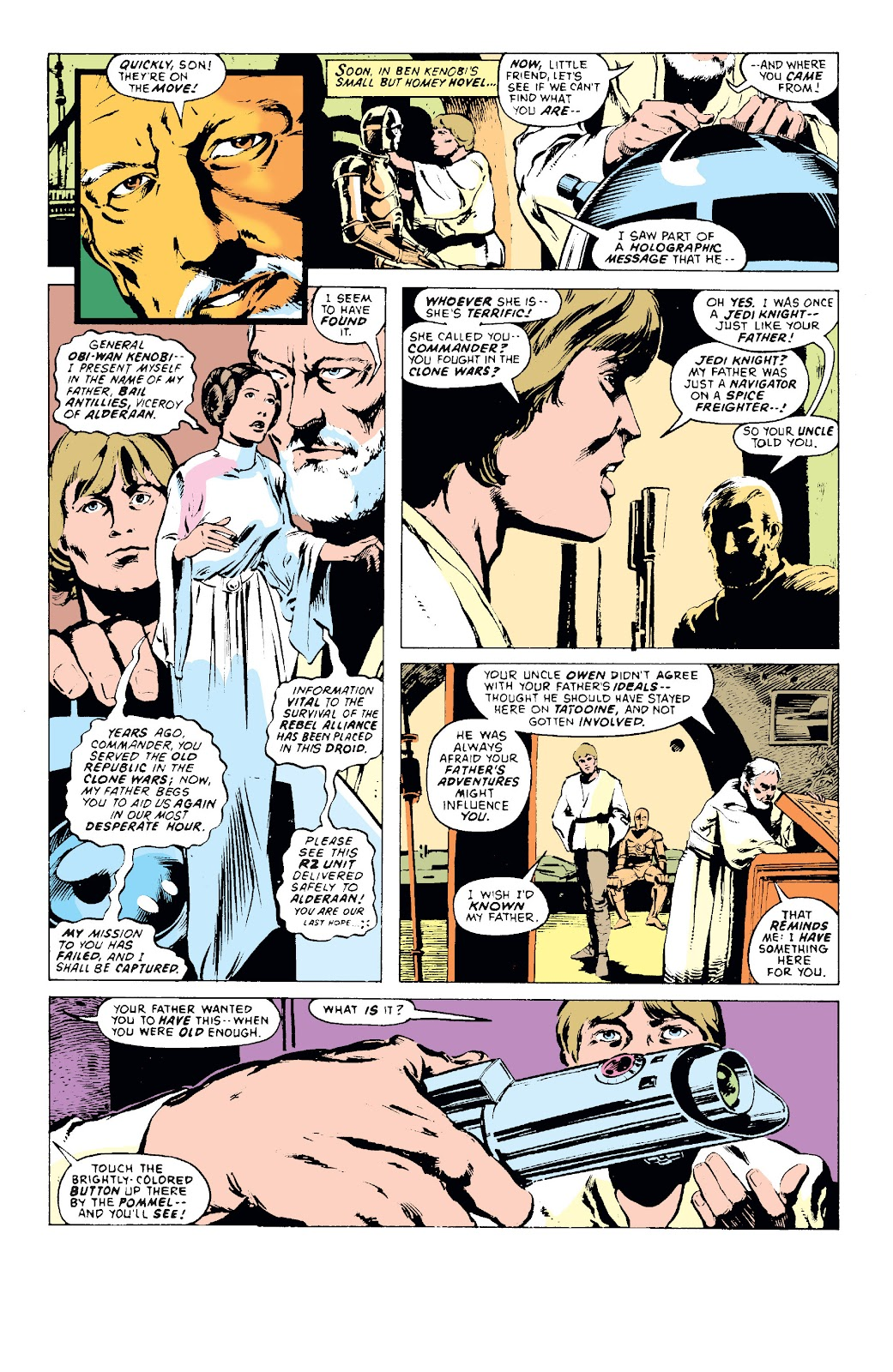 Read online Star Wars Legends: The Original Marvel Years - Epic Collection comic -  Issue # TPB 1 (Part 1) - 27