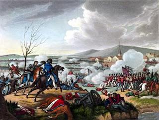 Uma representação do campo da Batalha da Roliça, no Bombarral.