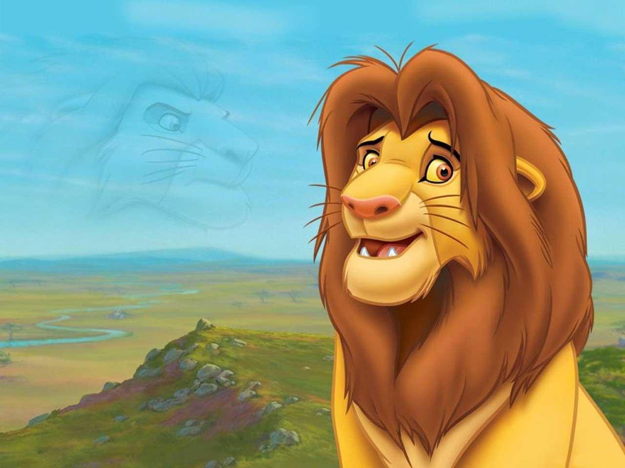 lion cartoon drawings wallpaper - photo #1