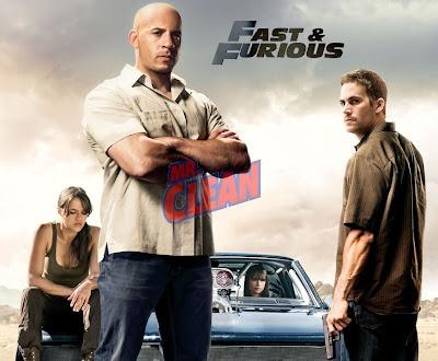 Vin Diesel as Mr. Clean in Fast and Furious 4