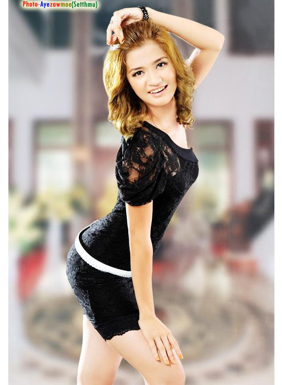 myanmar hot model 2020