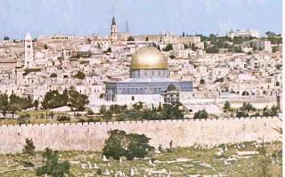 Visita la ciudad santa, Jerusalén