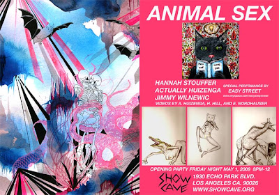 'Animal Sex' at Showcave this Fri...