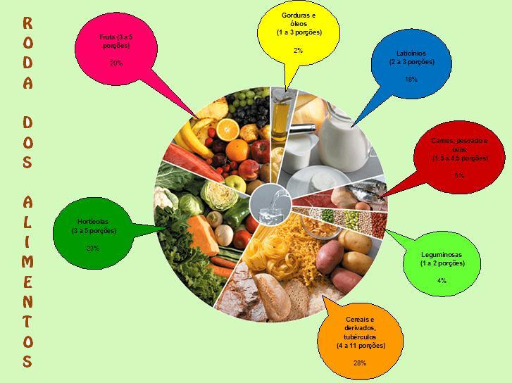 Roda Dos Alimentos Para Pintar Imagui