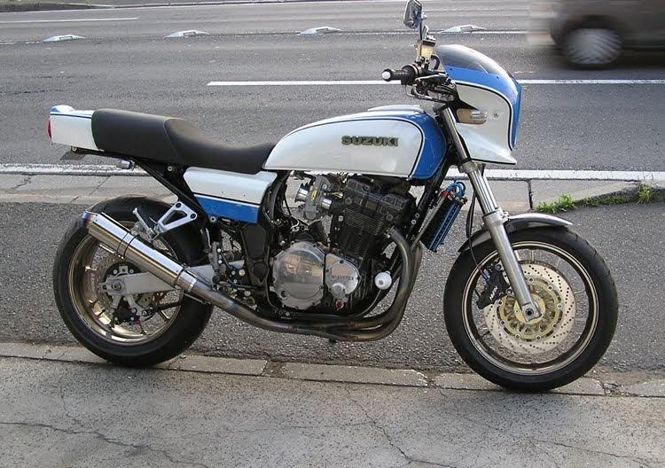 Mein on 1977 Suzuki Gs750