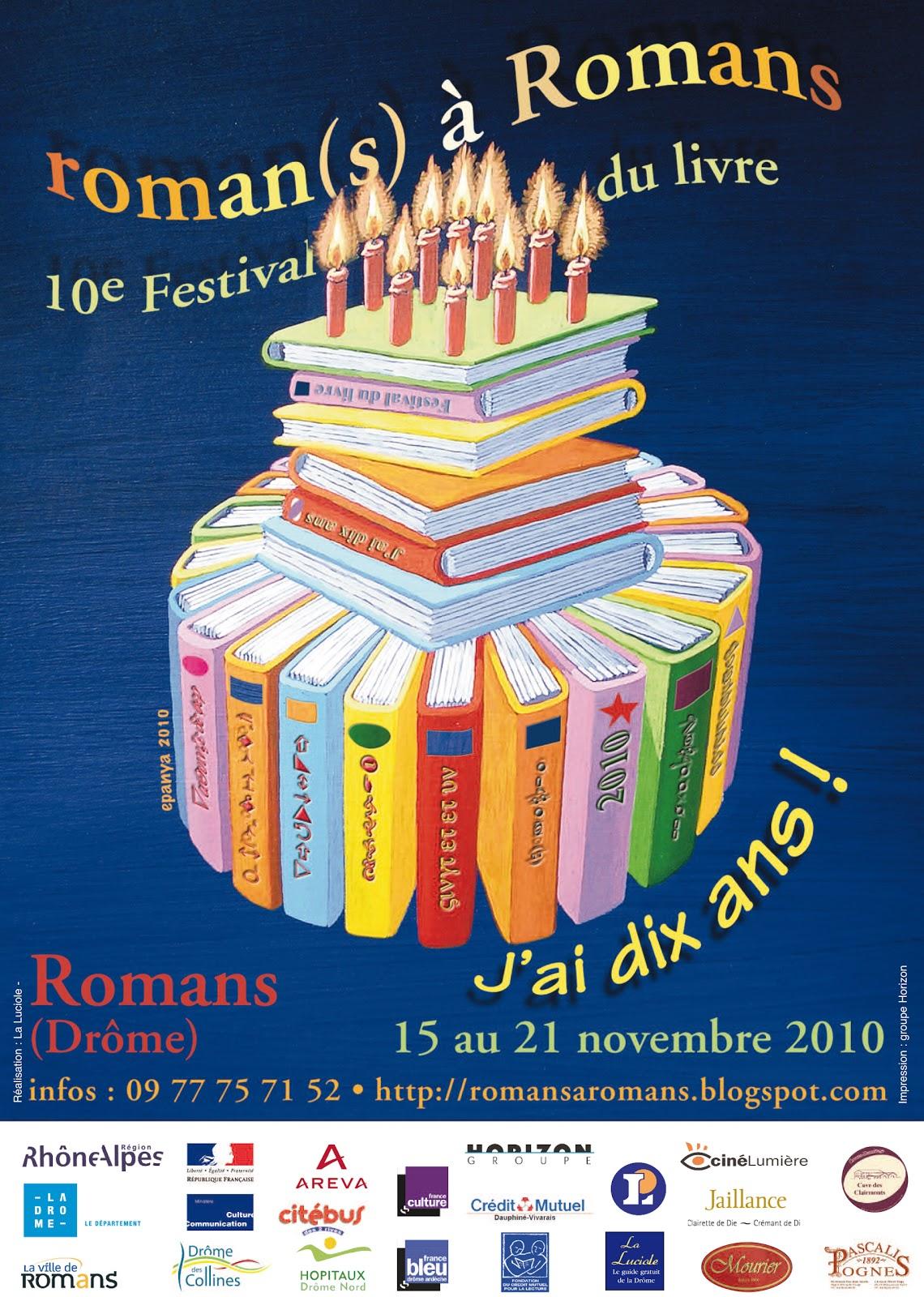 Roman S A Romans 2013 Litterature Et Gourmandises Roman S A Romans C Est Parti