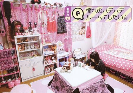 Young Chic and Social I Want A Kawaii Room Room Inspiration pictures for gals lolitas and