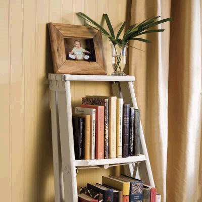 Recaptured Charm New Use For An Old Ladder