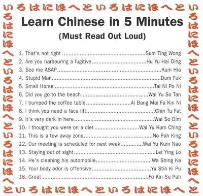 LEARN CHINESE IN 5 MINUTES PDF DOWNLOAD