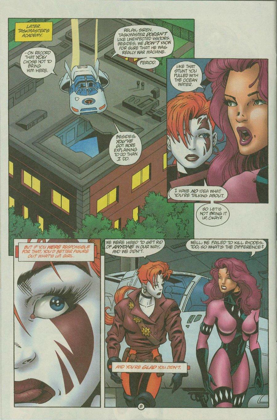 Read online Siren comic -  Issue #2 - 10