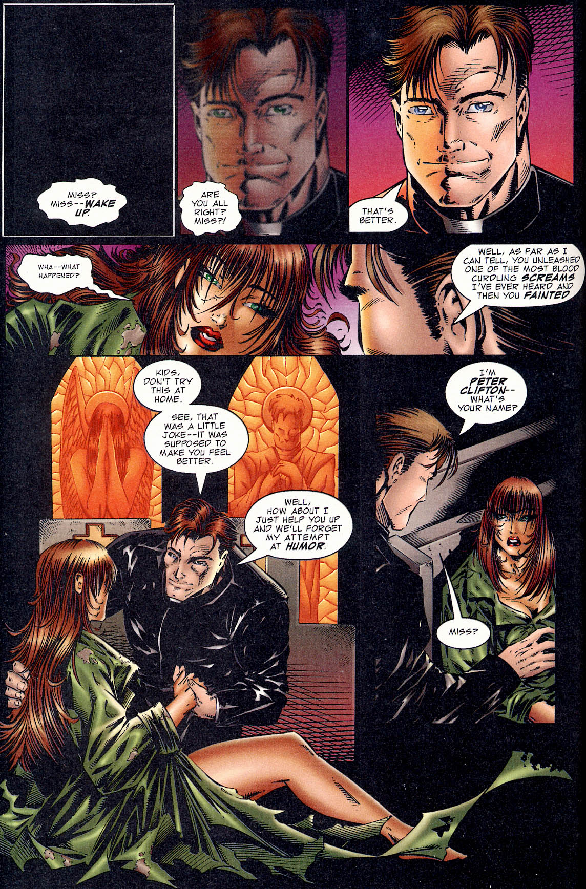Read online Avengelyne (1995) comic -  Issue #1 - 7