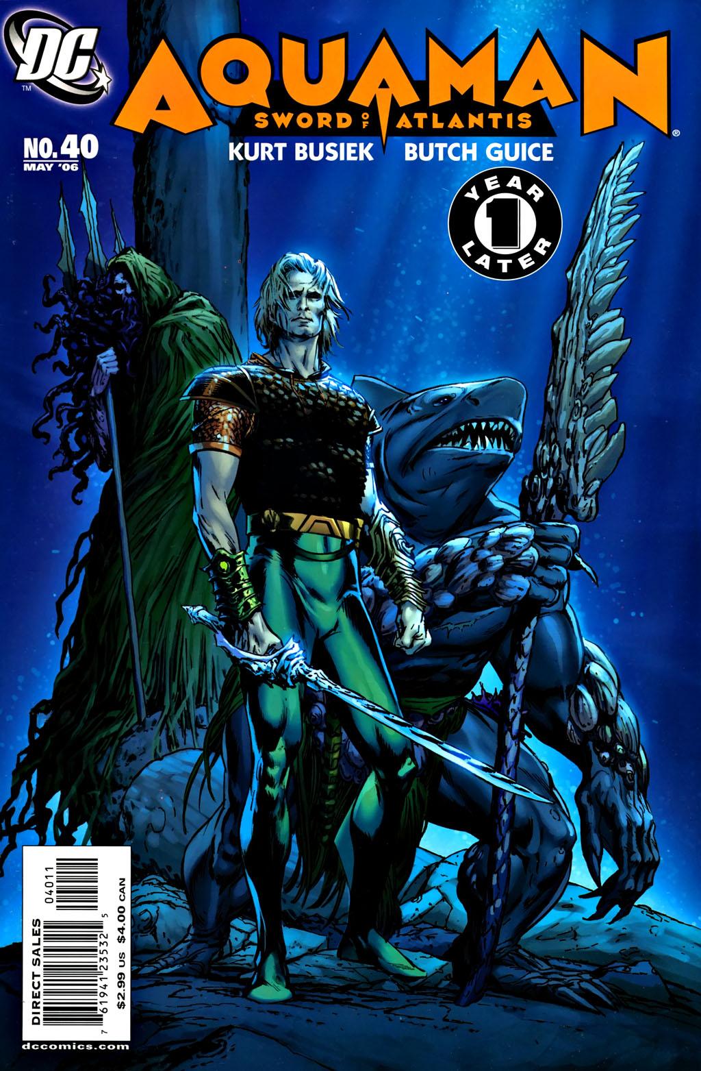 Aquaman: Sword of Atlantis 40 Page 1