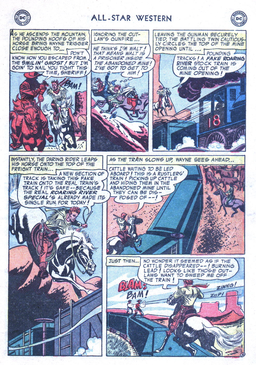 Read online All-Star Western (1951) comic -  Issue #77 - 7