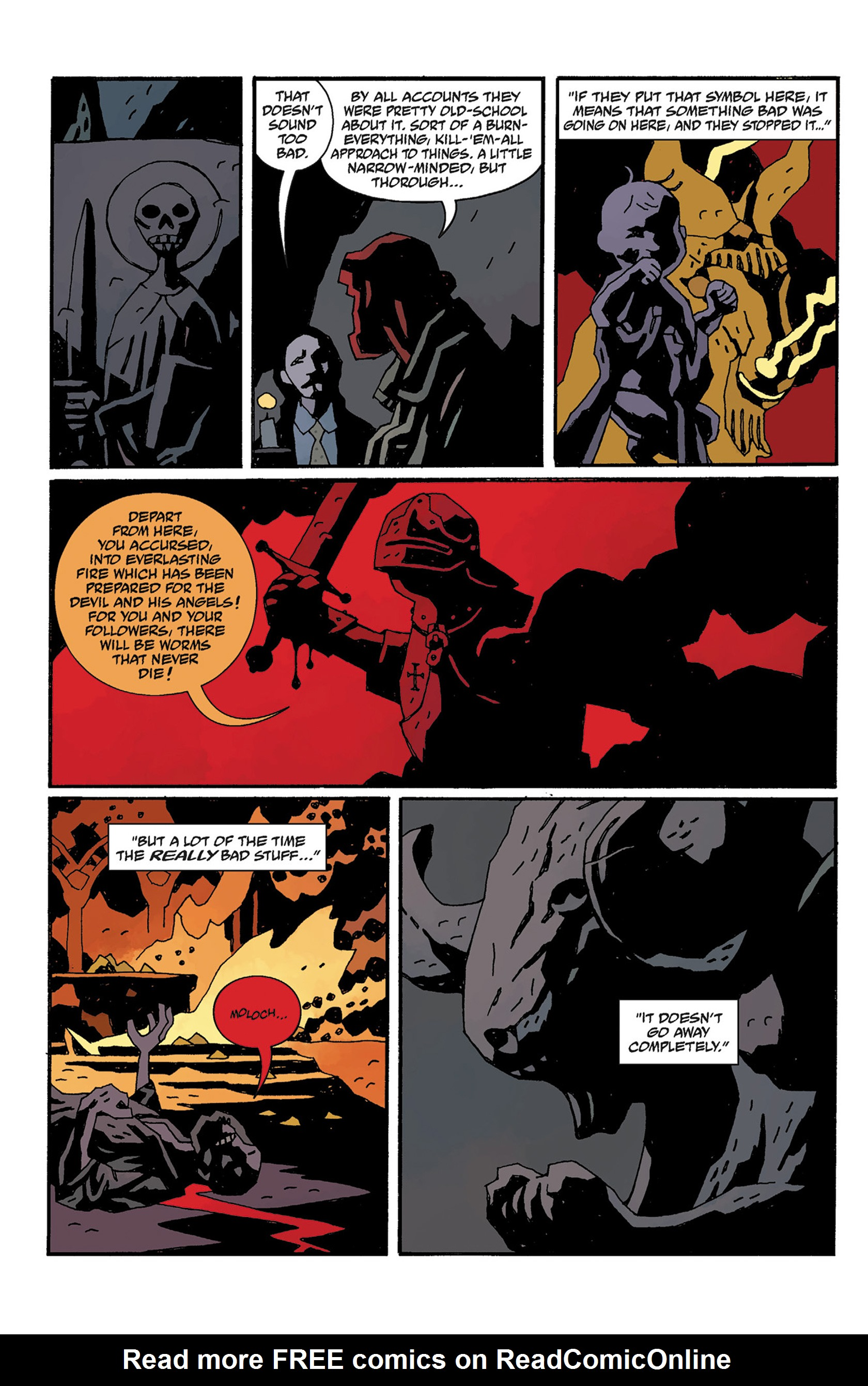 Read online Hellboy: The Crooked Man and Others comic -  Issue # TPB - 118